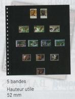 Paquet De 10 Feuilles OMNIA 05 Noires Lindner  à Moins 50 % - Albums & Reliures