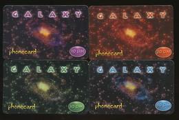 GERMANY - 4 Verschiedene Prepaidkarten Galaxy 10,20,30,50 DM - Siehe Scan - 10729 - Deutschland