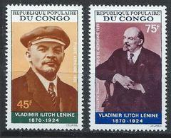 Congo YT PA 97-98 XX / MNH Lénine - Congo - Brazzaville