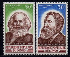 Congo YT PA 99-100 XX / MNH Marx Engels - Congo - Brazzaville