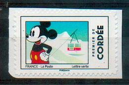 France 2018 - Mickey, Alpes, Station De Ski / Alps, Ski Resort - MNH - Geography