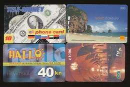 4 Verschiedene Prepaidkarten  - Siehe Scan - 10733 - Other - Europe