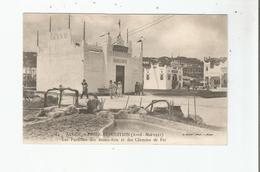 ALGER 14 FOIRE EXPOSITION (AVRIL MAI 1921) LES PAVILLONS DES BEAUX ARTS ET DES CHEMINS DE FER - Alger