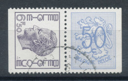 1768c Timbres De Carnet Se Tenant (o) - Belgique