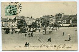 CPA - Carte Postale - France - Le Mans - La Place De La République - 1905 (SV6264) - Le Mans