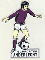 AUTOCOLLANT . SUPPORTER . ANDERLECHT  . FOOTBALL - Autocollants