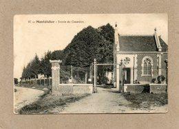 CPA - MONTDIDIER (80) - Aspect De L'entrée Du Cimetière En 1916 - Montdidier