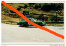 TARGA FLORIO AUTOSTORICHE 93 STOSCHER - GOEBEZ PORSCHE 911 (14) 10X15 No Agenzia Sport - Automobili