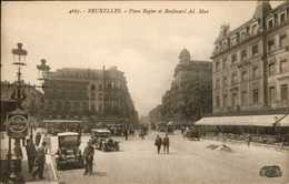 Bruxelles - Place Rogier Et Bd Ad Max / Ancètres - Brugge
