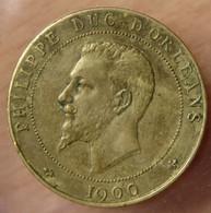 Médaille PHILIPPE DUC D'ORLÉANS / 3 ème République 1900 - Professionals / Firms