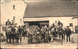 Strombeek : Drij Pikkel / Cour De La Brasserie - Grimbergen