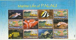Palau 2004 Marine Life Of Palau 6v  M/s Mint - Palau