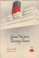 Cunard White Star - Paquebots