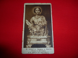 Santini Sant'Agata Vergine E Martire - Santini