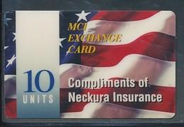 USA MCI Prepaidkarte -Compliments Of Nekura Insurance  - Siehe Scan - 10734 - Vereinigte Staaten