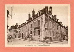 CPA - CHABLIS (89) - Aspect De L'Hôtel De L'Etoile Dans Les Années 30 - Chablis