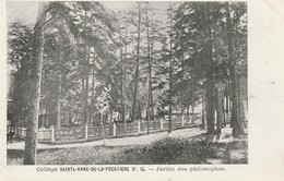 College Sainte-Anne-de-La- Pocatiere, Quebec  Jardin Des Philosophes - Quebec