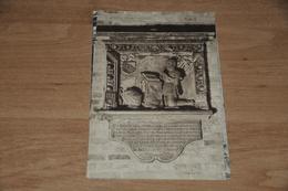 5970- BRUGES  BRUGGE, CHAPEL OF JERUSALEM 1427, FUNERAL STONE OF JEROM ADORNO 1558 - Religions & Croyances