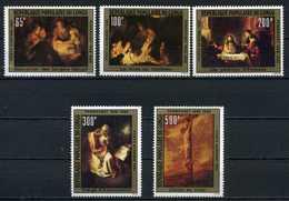 Congo YT PA 273-277 XX / MNH Art Peinture Rembrandt - Congo - Brazzaville