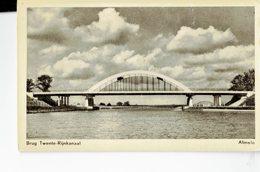 NETHERLANDS  -. VINTAGE POSTCARD - ALMELO - BRUG TWENTE-RIJNKANAAL- SHINING - NEW KUIPER'S WARENHUIS -ALMELO  POST50 - Almelo