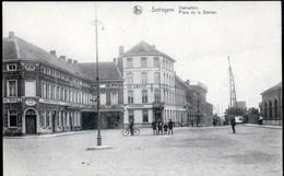 Zottegem : Statieplein Café De Zwaanetc. - Zottegem