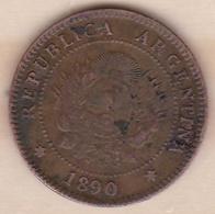 ARGENTINE / TUCUMAN . UN CENTAVO 1890. BRONZE - Argentine