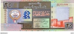 Kuwait P.28 20 Dinars  1994    Unc - Kuwait