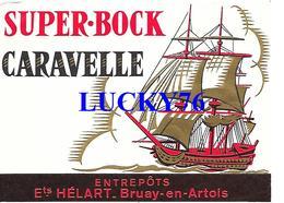 Super Bock Caravelle Helart Bruay En Artois - Bière