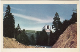 Palomar Mountain, 200'' Dome Housing The World Largest Telesope - 'Highway To The Stars' - (Ca., USA) - Sterrenkunde