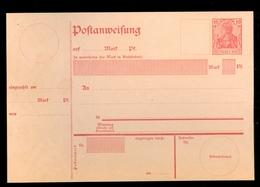 DEUTSCHES REICH - POSTANWEISUNG A28 Ungebraucht - 1904/1905   (10.456s) - Germany