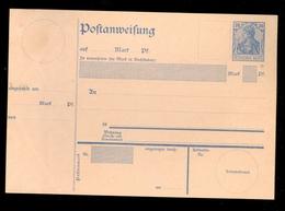 DEUTSCHES REICH - POSTANWEISUNG A20 1902 Ungebraucht  (10.456r) - Germany