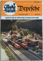 LGB Depesche 49 Frühjahr 1985 Zeitschrift Lehmann Großbahn OBB Schneebergbahn - G Scale