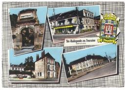 37 Ste Sainte Radegonde En Touraine Multi Vue 4 Vues  Cpsm Gf Edit Cim - Autres Communes