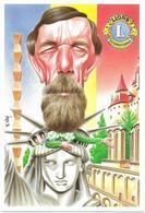Illustrateur Bernard Veyri Caricature Michel Huvier Cartophile Arnouville Les Gonesse - Veyri, Bernard