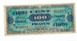 Cent Francs - Série N°3 De 1944 - Verso France - N° 98104273 - Treasury