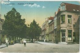 Leeuwarden 1916; Hofplein Met Eewal - Gelopen. (H.W.) Lees Info! - Leeuwarden
