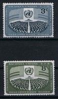 Verenigde Naties New York Y/T 44 / 45 (**) - New York -  VN Hauptquartier