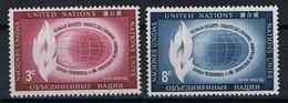 Verenigde Naties New York Y/T 46 / 47 (**) - New York -  VN Hauptquartier