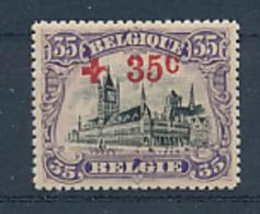 BELGIUM  COB 157 MNH - 1918 Red Cross
