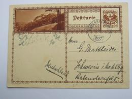 PAYERBACH - Wien , Bahnpost, Klarer Stempel Auf Karte - 1918-1945 1. Republik