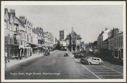 Town Hall, High Street, Marlborough, Wiltshire, C.1950s - TVAP Postcard - England