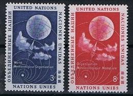 Verenigde Naties New York Y/T 48 / 49 (**) - New York -  VN Hauptquartier