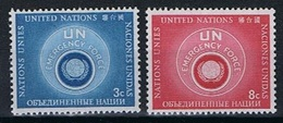 Verenigde Naties New York Y/T 50 / 51 (**) - New York -  VN Hauptquartier