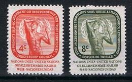 Verenigde Naties New York Y/T 70 / 71 (**) - New York -  VN Hauptquartier