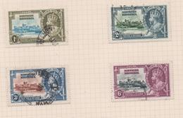 Northern Rhodesia, Used, 1935, Michel 18_21 - Rhodésie Du Nord (...-1963)