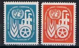 Verenigde Naties New York Y/T 68 / 69 (**) - New York -  VN Hauptquartier