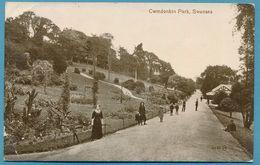 Cwmdonkin Park - Swansea - Carte Circulé 1916 - Pays De Galles