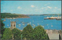 Parish Church And Docks, Falmouth, Cornwall, C.1960s - Dennis Postcard - Falmouth
