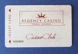 Regency Casino, Tirana Albania, Casino Club - Casinokaarten