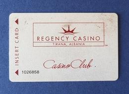 Regency Casino, Tirana Albania, Casino Club - Tarjetas De Casino